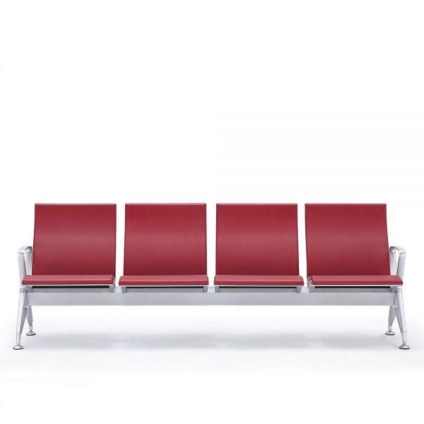236排椅(4人位红色)