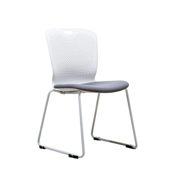 818-white培训椅