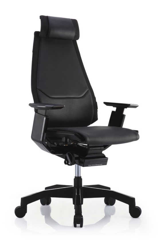 GN-BB-HAL黑框黑色扶手&黑色椅脚