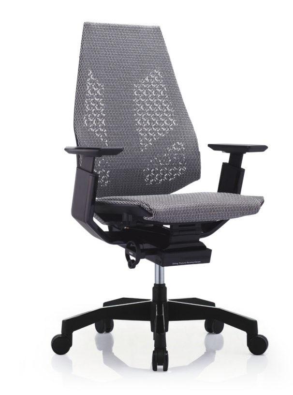 GN-BB-LAM黑框黑色扶手&黑色椅脚