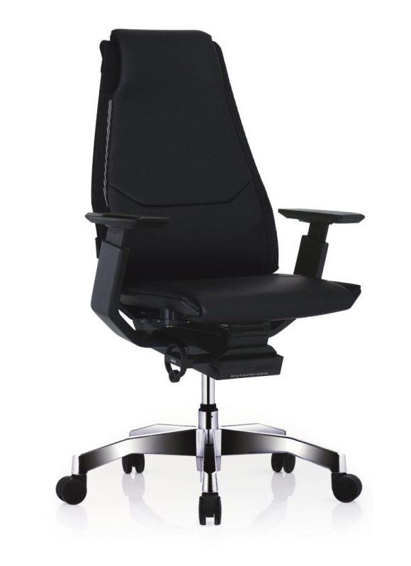 GNS-BP-LAL黑框黑色扶手&抛光椅脚