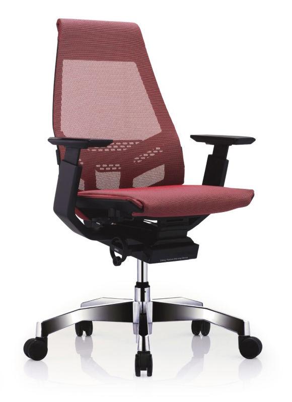 GNS-BP-LAM黑框黑色扶手&抛光椅脚