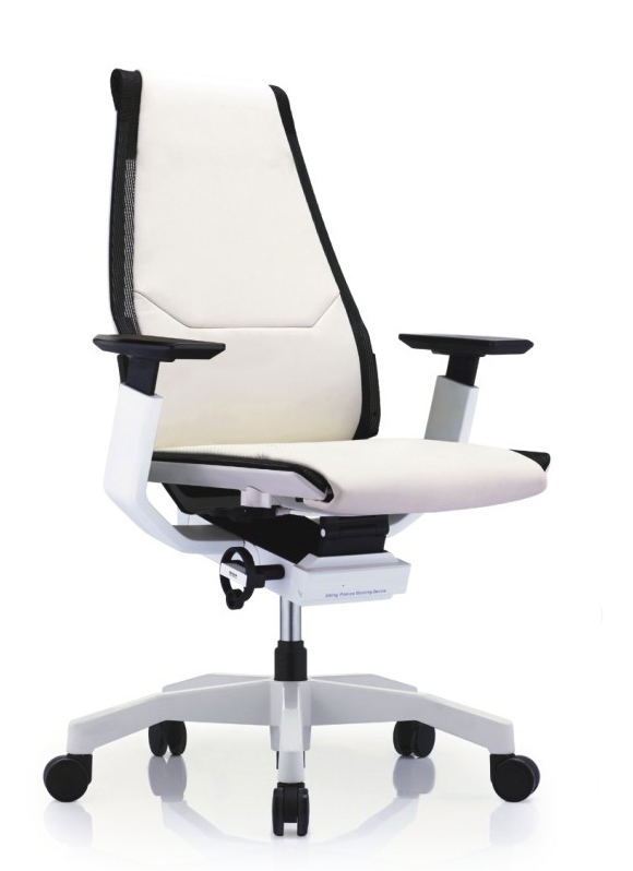 GNS-WW-LAL白框白色扶手&白色椅脚
