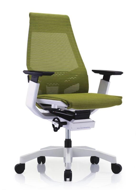 GNS-WW-LAM白框白色扶手&白色椅脚